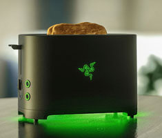 Razer's April Fools' Toaster: Make Your Own Toast